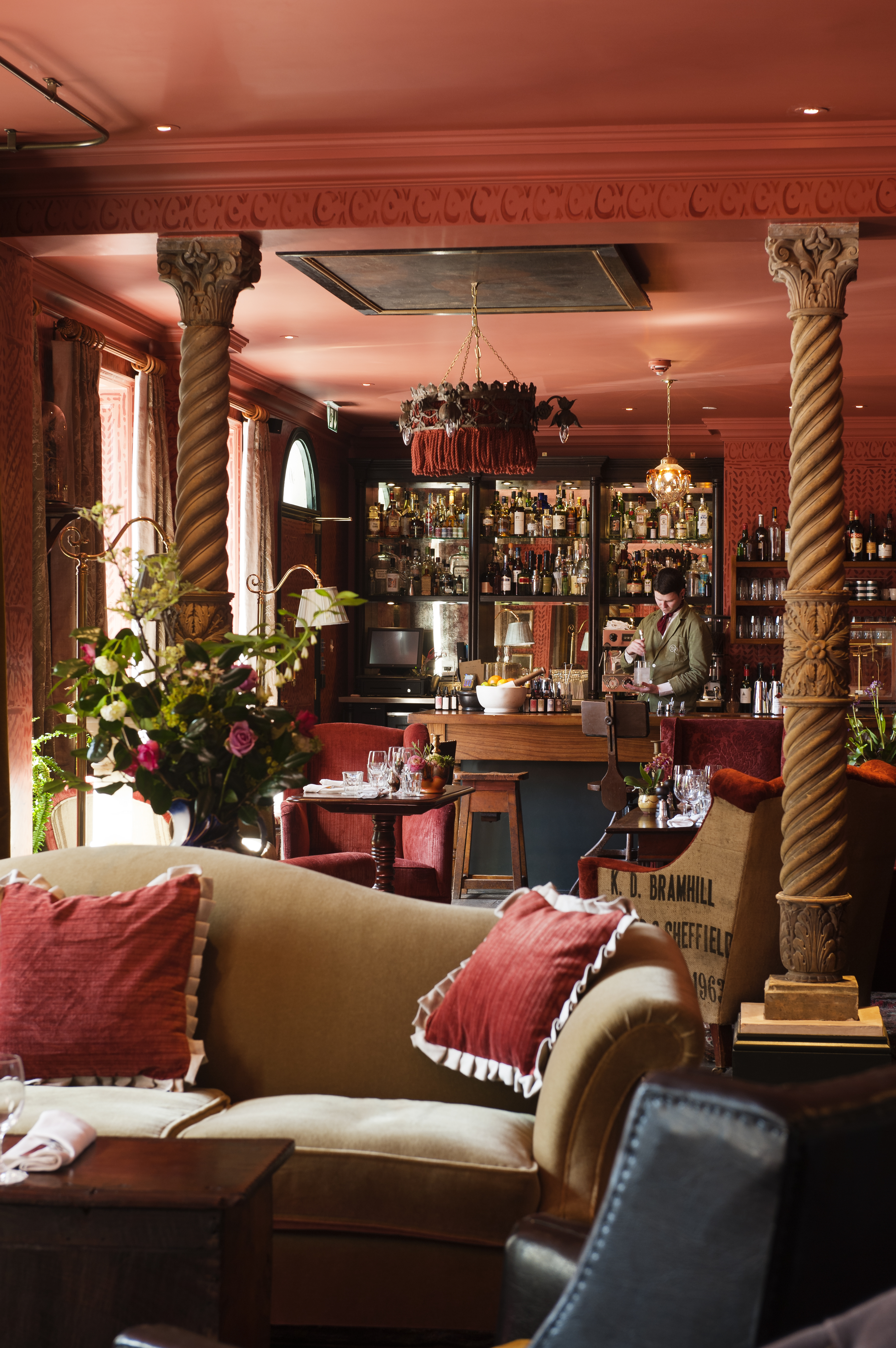 The Zetter Townhouse Is Crammed Full Of Collectibles Taxidermy And Victoriana From Aunt Wilhelminas Travels Its Light Blue Front Door Has Been