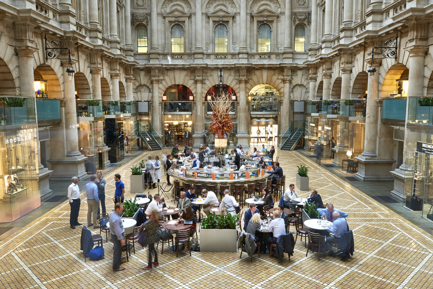 Le Grand Cafe Royal Exchange